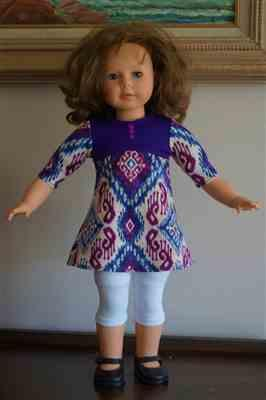 Pixie Faire Leggings 18 Doll Clothes Pattern Review