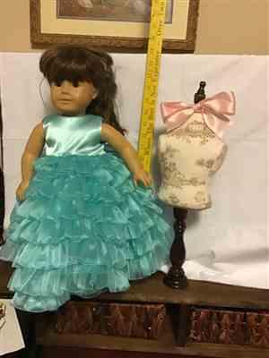 Valerie E. verified customer review of Dress Form 18 Doll Clothes Pattern