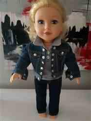 Rose-Marie D. verified customer review of Denim Jacket 18 Doll Clothes Pattern