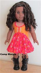 Margery A. verified customer review of Carousel Dress and Vest 18 Doll Clothes Pattern