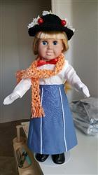 helen a. verified customer review of 1970's Holiday Maxi Outfit 18 Doll Clothes Pattern