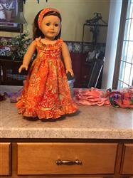 Sherry Conaway verified customer review of Hawaiian Sundress 18 Doll Clothes Pattern