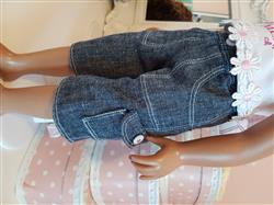 Annette R. verified customer review of Cropped Cargo Pants 18 Doll Clothes
