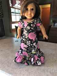 Sherry Conaway verified customer review of Aloha Holoku Dress 18 Doll Clothes Pattern
