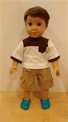 Pixie Faire Boy Doll Cargo Shorts 18 Doll Clothes Pattern Review