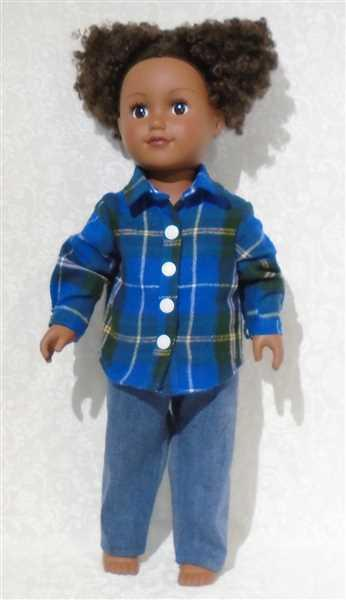Dorothy Kaye verified customer review of Button Up Shirt Bundle for Girls and Boys 18 Doll Clothes Pattern
