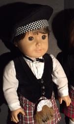Sewbig verified customer review of Highland Dress Shirt 18 Doll Clothes Pattern