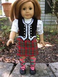 Melangell verified customer review of Girl's Highland Bundle 18 Doll Clothes Pattern