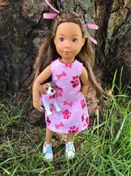 Sharon D. verified customer review of Polka Dot Party Dress Pattern for Kruselings Dolls