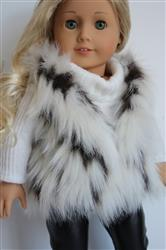 Linda N. verified customer review of Autumn Faux Fur Vest 18 Doll Clothes Pattern