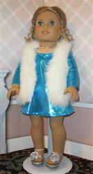 Pamela Hunt verified customer review of Autumn Faux Fur Vest 18 Doll Clothes Pattern