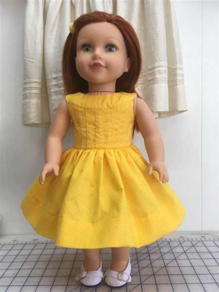 Anne Neuls verified customer review of 50s N Polka Dots 18 Doll Clothes Pattern