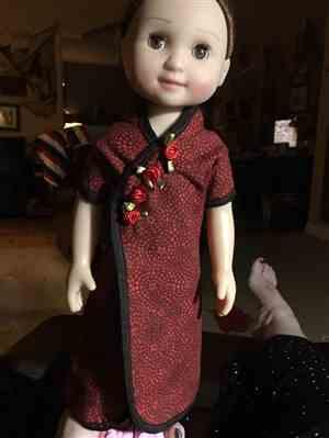 Felicia C. verified customer review of Ming Lin Pattern for 14 to 14.5 Inch Dolls