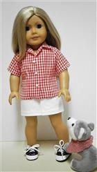 Pat P verified customer review of Bella Blouse 18 Doll Clothes Pattern