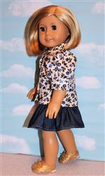 Karen L verified customer review of Bella Blouse 18 Doll Clothes Pattern