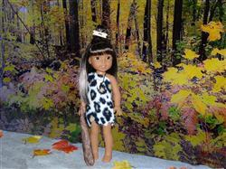 Lynne Thompson verified customer review of Bedrock Beauty 14.5 Doll Clothes Pattern