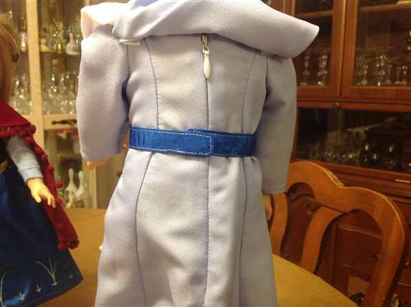 J L in CT verified customer review of Frost Queen 18 Doll Clothes Pattern