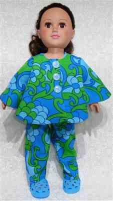 Dorothy Kaye verified customer review of Classic Rain or Winter Jacket 18 Doll Clothes Pattern