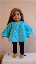 Mia verified customer review of Classic Rain or Winter Jacket 18 Doll Clothes Pattern
