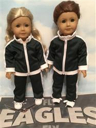 KAREN L. verified customer review of Gold Medal Track Suit 18 Doll Clothes Pattern