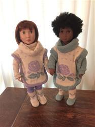 Micheley verified customer review of Sweater Mukluks Pattern For A Girl For All Time Dolls