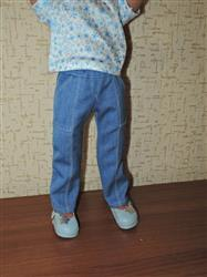 Alla  verified customer review of Skinny Utility Pants Pattern For A Girl For All Time Dolls