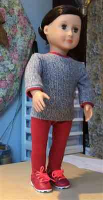 Doris Lum verified customer review of Pullover Sweater 18 Doll Clothes Pattern