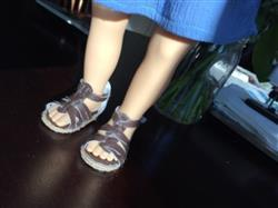 Sherri M. verified customer review of Gladiator Sandals 18 Doll Shoes
