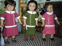 Moana H. verified customer review of 1915 Sweetheart Plaid Blouse 18 Doll Clothes Pattern
