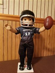 Sherry H. verified customer review of Football Helmet 18 Doll Accessory Pattern