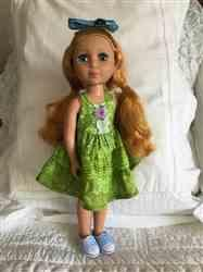Joyce D. verified customer review of Dainty Ruffled Dress 14-14.5 Doll Clothes Pattern