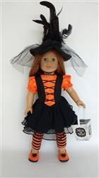 Joan verified customer review of Tutu Cute Story Book Dress-Up Costume Dress 18 Doll Clothes