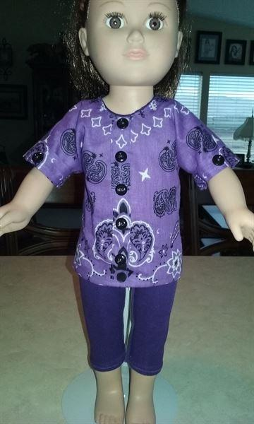 Christine Brown verified customer review of Bandana Blouse 18 Doll Clothes Pattern
