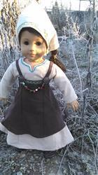 Pixie Faire Viking Dress 18 Doll Clothes Pattern Review