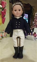 Christine B. verified customer review of Riding Pants 18 Doll Clothes Pattern
