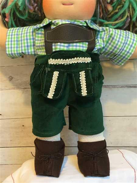 Kem Smith verified customer review of Lederhosen 18 Doll Clothes Pattern