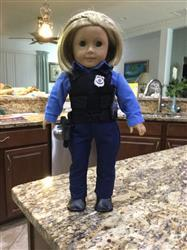Deborah F. verified customer review of Law Enforcement Uniform 18 Doll Clothes Pattern