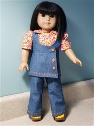 Liana G. verified customer review of Study Hall Pantsuit and Jumper 18 Doll Clothes Pattern