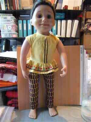 Gail Orr verified customer review of Kings Canyon Peplum Top 18 Doll Clothes Pattern