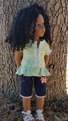 Tina J. verified customer review of Kings Canyon Peplum Top 18 Doll Clothes Pattern
