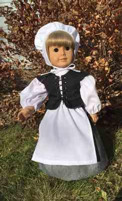Barbara Toop verified customer review of Pretty Pilgrim 18 Doll Clothes Pattern