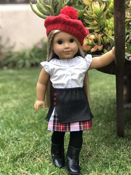 Hannah Witt verified customer review of Highland Spring Skirt 18 Doll Clothes Pattern