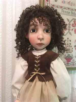 Pennie B. verified customer review of Pretty Pilgrim Pattern For A Girl For All Time Dolls