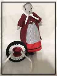 Iris S. verified customer review of Modern Welsh Costume 18 Doll Clothes Pattern