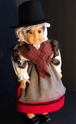 Sewbig verified customer review of Modern Welsh Costume 18 Doll Clothes Pattern