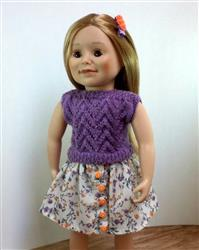 Michele Groberman verified customer review of Vera 18 Doll Knitting Pattern
