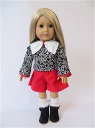Kat verified customer review of Bow Beautiful Blouse 18 Doll Clothes Pattern