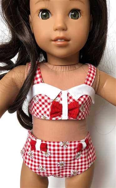 Corinne Sims verified customer review of Spring Bikini 18 Doll Clothes Pattern