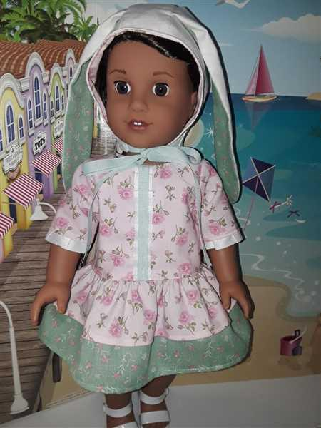 Jeanne Marshall verified customer review of Easter Day Dress for 18 Doll Clothes Pattern