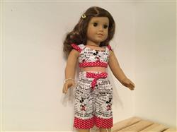 Debra Welch verified customer review of Summer Picnic Capris and Shorts 18 Doll Clothes Pattern